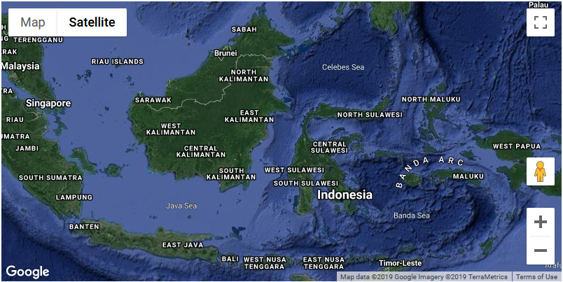 Google Maps API: Cara Membuat Peta ROADMAP, SATELLITE, HYBRID dan TERRAIN