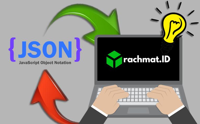 JSON merupakan singkatan dari JavaScript Object Notation (bahasa Indonesia: notasi objek JavaScript), adalah suatu format ringkas pertukaran data komputer. Formatnya berbasis teks dan terbaca-manusia serta digunakan untuk merepresentasikan struktur data sederhana dan larik asosiatif (disebut objek). Format JSON sering digunakan untuk mentransmisikan data terstruktur melalui suatu koneksi jaringan pada suatu proses yang disebut serialisasi. Aplikasi utamanya adalah pada pemrograman aplikasi web AJAX dengan berperan sebagai alternatif terhadap penggunaan tradisional format XML.